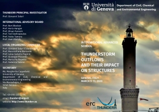 THUNDERSTORM OUTFLOWS AND THEIR IMPACT ON STRUCTURES