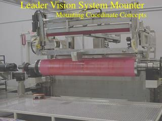 Pioneer Vision System Mounter