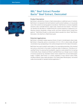 BBL™Beef Extract Powder