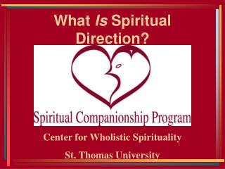 What Is Spiritual Direction
