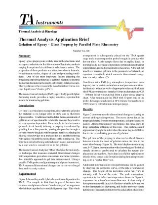 Thermal Analysis Application Brief