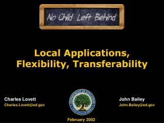 Neighborhood Applications, Adaptability, Transferability