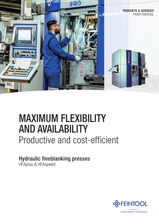 MaxIMUM flexIbIlIty anD aVaIlabIlIty