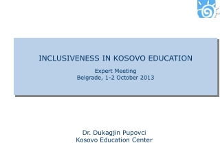 INCLUSIVENESS IN KOSOVO EDUCATION