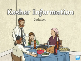 Kosher Food and Drink