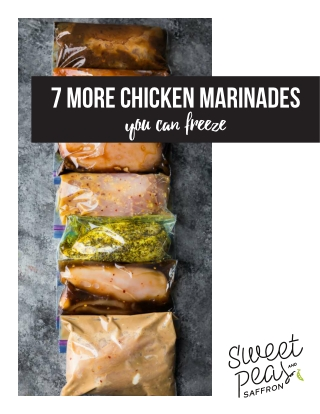 7 more Chicken Marinades