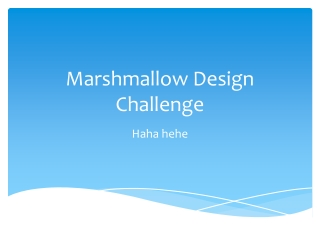 Marshmallow Design