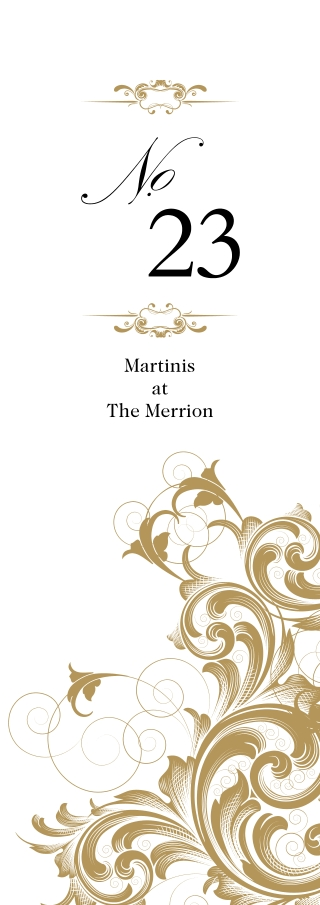 Martinis at The Merrion