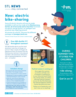 New: electric bike-sharing