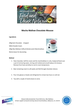 Mocha Mallow Chocolate Mousse