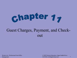 Visitor Charges, Payment, and Check-out
