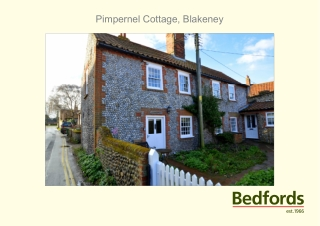 Pimpernel Cottage, Blakeney