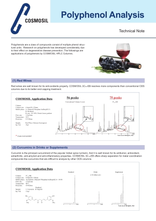 Polyphenol Analysis