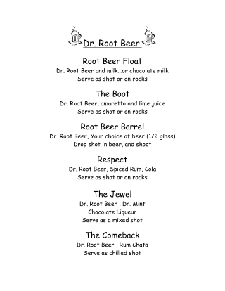 Dr. Root Beer