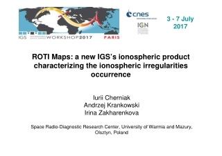 ROTI Maps: a new IGS's ionospheric product characterizing the ionospheric irregularities occurrence