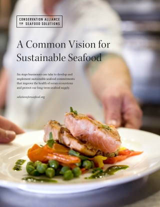 A Common Vision for Sustainable Seafood
