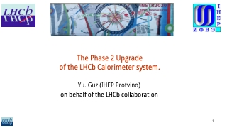 The Phase 2 Upgrade of the LHCb Calorimeter system.