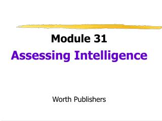 Module 31 Surveying Insight Worth Distributers