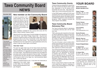 Tawa Community Board
