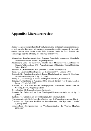Appendix: Literature review