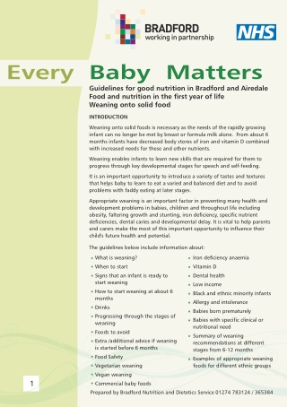 Every Baby Matters