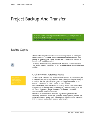 Project Backup And Transfer