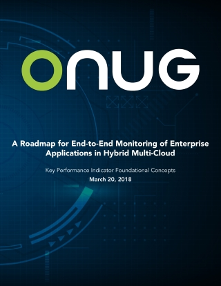 A Roadmap for End-to-End Monitoring of Enterprise Applications in Hybrid Multi-Cloud