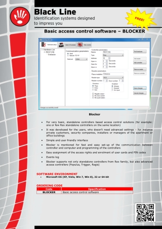 Basic access control software