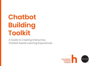 Chatbot Building Toolkit