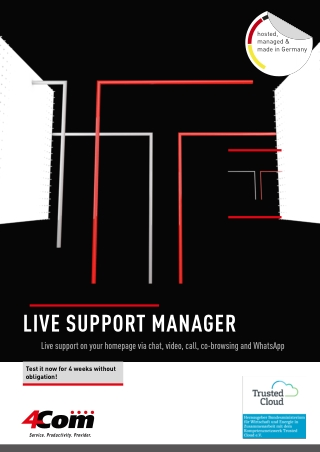 LIVE SUPPORT MANAGER