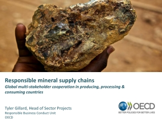 Responsible mineral supply chains