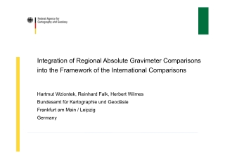 Integration of Regional Absolute Gravimeter Comparisons into the Framework of the International Comparisons