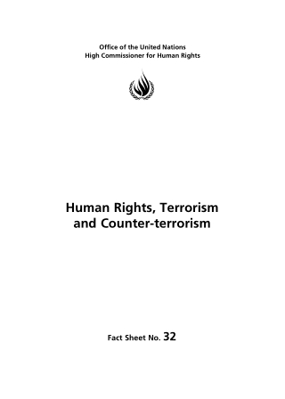 Human Rights, Terrorism and Counter-terrorism