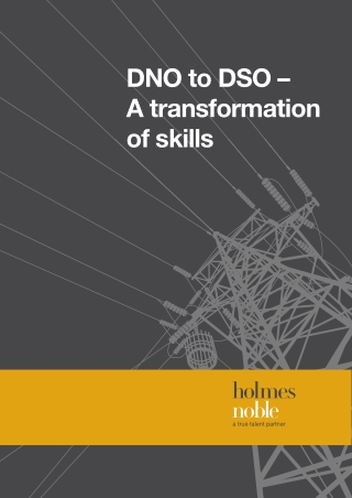 DNO to DSO – A transformation of skills