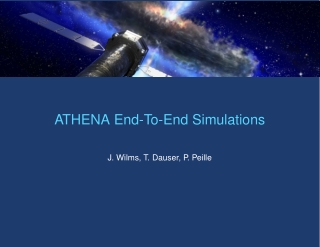 ATHENA End-To-End Simulations