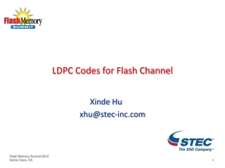 LDPC Codes for Flash Channel