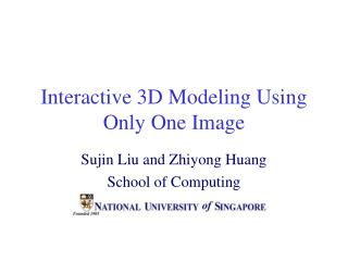 Intelligent 3D Displaying Utilizing One and only Picture