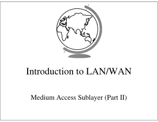 Introduction to LAN/WAN