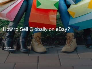 How to Sell Globally on eBay?