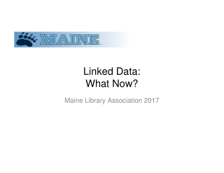Linked Data: What Now?