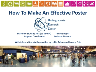 How	To	Make	An	Effective	Poster