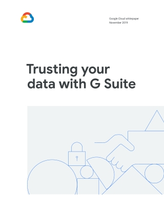 Trusting your data with G Suite