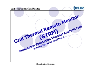 Grid Thermal Remote Monitor