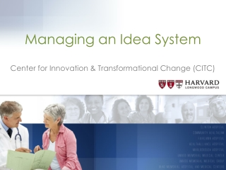 Managing an Idea System