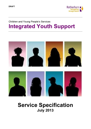 Integrated Youth Support Service Specification