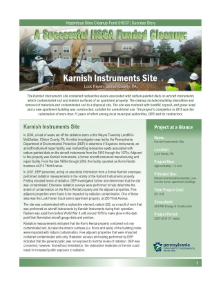Karnish Instruments Site