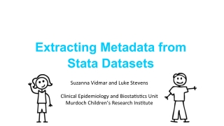 Extracting Metadata from Stata Datasets