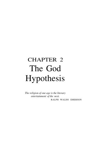 The God Hypothesis