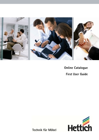 Online Catalogue First User Guide