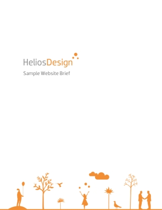 Sample Website Brief